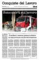 Espolsione mortale - Tre vigili del fuoco perdono la vita