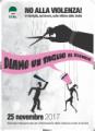25 novembre 2017, Giornata Internazionale per l'Eliminazione della Violenza contro le Donne