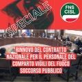 SPECIALE Rinnovo del Contratto Nazionale per il personale del Comparto Vigili del Fuoco - Soccorso Pubblico