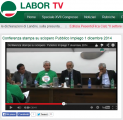 Conferenza stampa su sciopero Pubblico Impiego 1 dicembre 2014