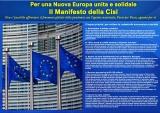 CISL  -  MANIFESTO  PER  L'EUROPA