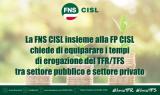 nota di adesione alla petizione su TFR TFS
